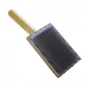 Flat carding comb