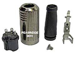 3-way DIN plug assembly