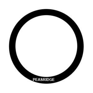 O-ring seal - front